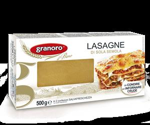 Lasagne - tojásos tészta